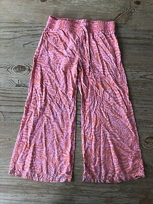 Lilly For Target Giraffeeey Palazzo Pants Size Small 6/6x