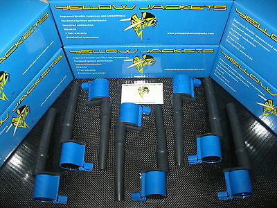Yellow Jackets Blue Coil Packs - Fpv Ba Bf Xr8 V8 4.6L & 5.4L Engines- Brand New