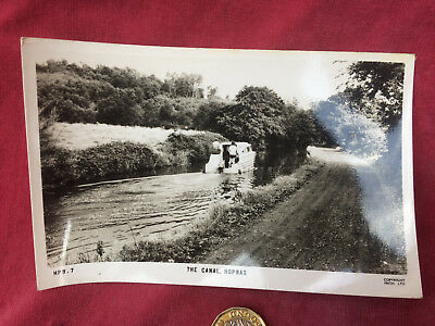 Friths Photograph Postcard, HPW.7 THE CANAL, HOPWAS, Staffordshire c1950
