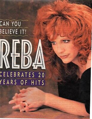 Reba McEntire 6 Page 1995 Magazine Article Clipping 10 Pictures Country Music