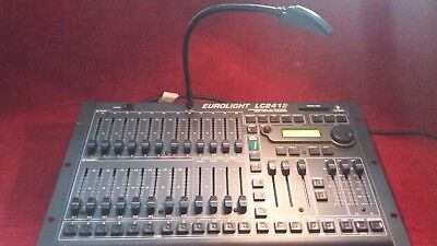 LC2412 DMX lighting mixer console also does analogue channels
