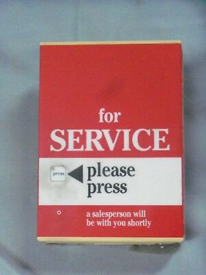 """K-Mart, """"for Service"""" Device, DOES NOT WORKS, Rectangular & Plastic"""