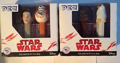 Lot of Star Wars Pez New in Original Boxes