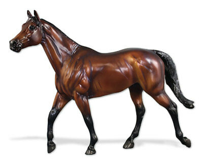 Breyer NIB * Brass Hat * Breyerfest SR Thoroughbred Traditional Model Horse