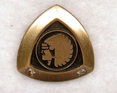 Mutual of Omaha Two Stone Pin (gold filled)