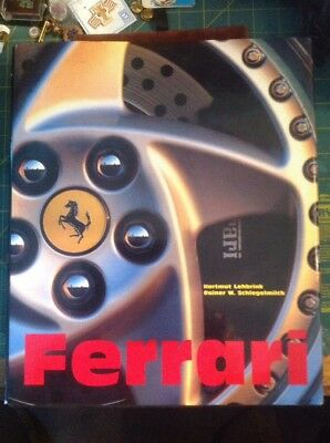 Ferrari Book By Hartmut Lehbrink Hard Cover 392 Pages