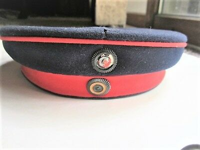 Original Wwi German Prussian Reserve Infantry Officer Cap Hat