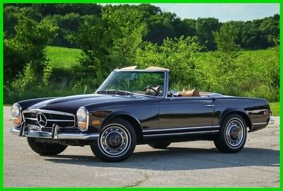 Mercedes-Benz 200-Series  1969 Mercedes 280SL Pagoda 2 Tops Low Miles Automatic Collectors Classic Vintage