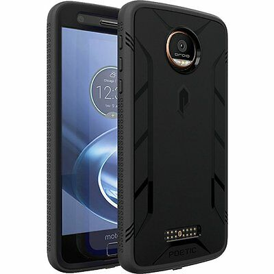 Poetic Revolution Heavy Duty Hybrid Case Screen Protector for Moto Z / Z Droid