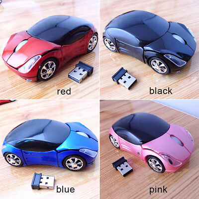 Home/Office Laptop USB Wireless Mouse Optical Game Mice W/LED Indicator US