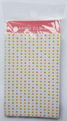 20x Polaroid Instax Mini Film Skins - Pack of 20 - Pastel Color Patterns