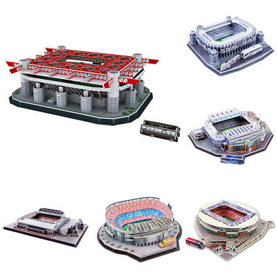 Football Club 3D Stadium Model Jigsaw Puzzle Memorabilia Gifts Paper Puzzle Toy