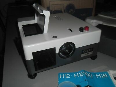 NORIS  H24 SLIDE PROJECTOR in excellent condition with 3 trays- Made in Germany