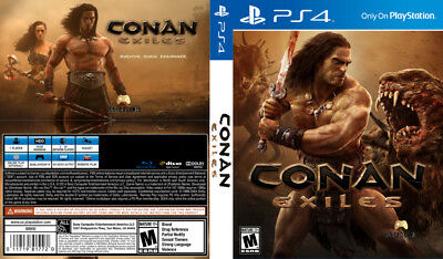 Conan Exiles (Playstation 4 Ps4) Replacement Case