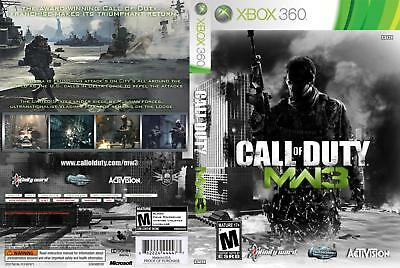 Call Of Duty Modern Warfare 3 (Xbox 360) Replacement Case