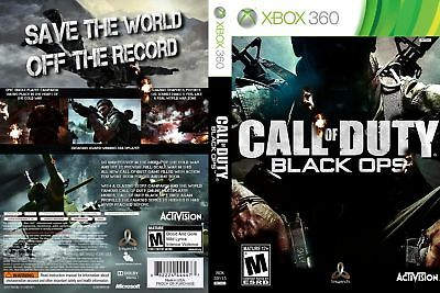 Call Of Duty Black Ops (Xbox 360) Replacement Case