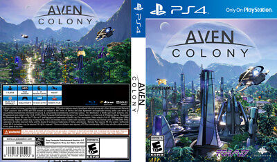 Aven Colony (Playstation 4 Ps4) Replacement Case