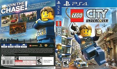 Lego City Undercover (Playstation 4 Ps4) Replacement Case
