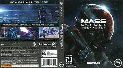 Mass Effect Andromeda (Xbox One S X) Replacement Case