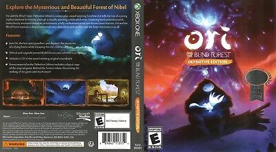 Ori And The Blind Forest (Xbox One S X) Replacement Case