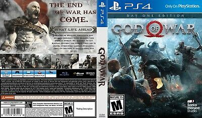 God Of War (Playstation 4 Ps4) Replacement Case