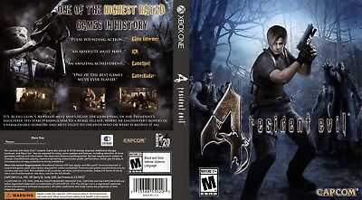 Resident Evil 4 (Xbox One S X) Replacement Case