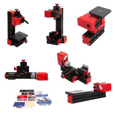 6 in 1 Lathe DIY Machine Tool Kit Jigsaw Milling Lathe Drilling Sanding Machine
