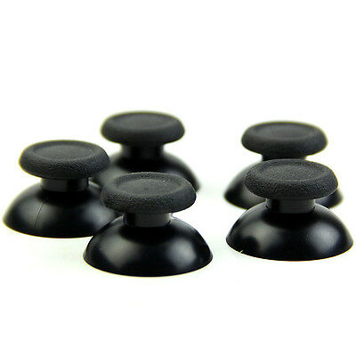 8Pcs Black Thumbsticks Thumb Stick For Sony PS4 Dual Shock Controller