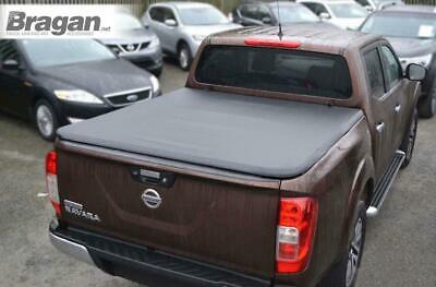 To Fit 2016+ Nissan Navara NP300 Tri Fold Soft Tonneau Cover Double Cab No Drill
