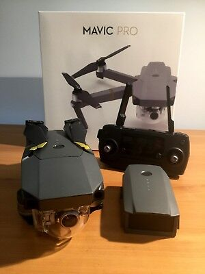 DJI Mavic Pro 4k Camera Drone - As New Condition, Low Mileage - Extras Included