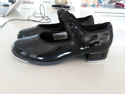 bloch tap shoes black size 11.5 M (5 year old)
