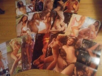 Playboy Magazine 1973 & 1974 Centerfold Collection 19 Pin-ups! Lot 11