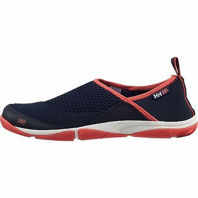 Helly Hansen Watermoc 2 Womens Athletic Shoes navy/sorbet/night blue/off white 9
