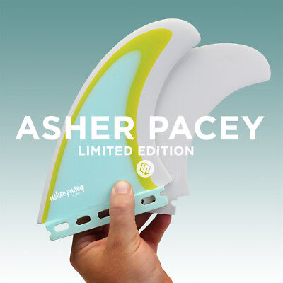 """Shapers Fins - AP 5.79"""" (Futures) Asher Pacey Twin Fins - Limited Edition - New"""