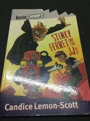 "Aussie Chomps Chapter Bk  ""Stinky Ferret And The JJs!"" Class Pet  Suit Grade 3-5"