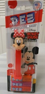 New Disney Mickey Mouse & Friends PEZ Candy & Dispenser Candy Made In USA