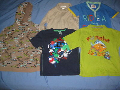 Boys Clothes Size 5 Including Hot Wheels Hoodie