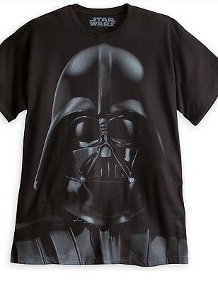 AUTHENTIC DISNEY Darth Vader Tee for Adults size  Large NEW