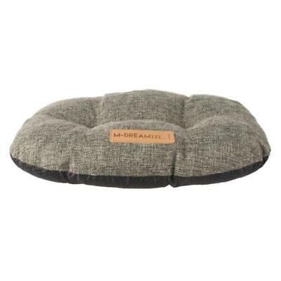 Mpets Coussin Oval Oleron L - Gris Anthracite - Pour Ch