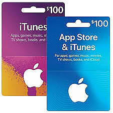 Apple & Itunes Gift Card