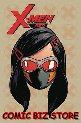 X-Men Red #7 (2018) 1St Printing Scarce 1:10 Charest Headshot Variant Cover