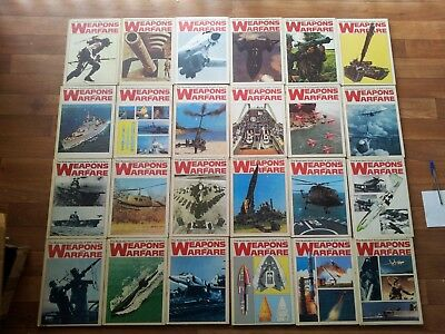 Illustrated Encyclopaedia 20Th Century Weapons & Warfare - Complete Set