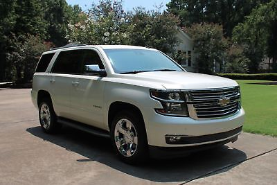 Chevrolet Tahoe LTZ  Perfect Carfax  MSRP New $63180 Perfect Carfax Nav Moonroof Heated and Cooled Seats Michelin Tires MSRP $63180