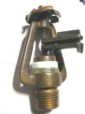 Vintage Jaws type 1912 brass fire sprinkler head