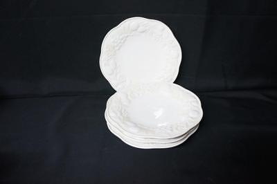 """4 LENOX Butler's Pantry Fruitier 9"""" Luncheon Accent Plate"""