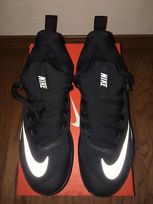 a369d963057c NEW NIKE MENS ZOOM SHIFT TB BASKETBALL Shoes Size 10.5  897811-001 Black  Silver
