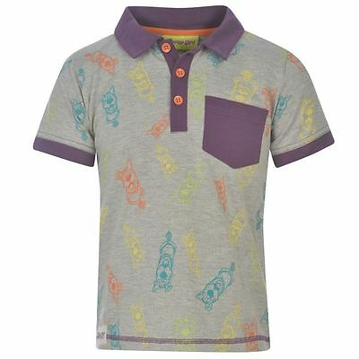 Scooby Doo:2015 Multi Print Polo Shirt,3/4,4/5,5/6,7/8,new With Tags