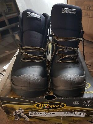 Safety Boots Grl Conteactor Size43 Brand new