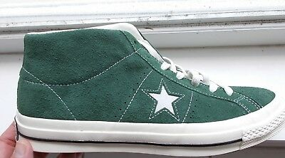 Converse ONE STAR MID   Sneakers Suede Shadow Fir Green Size 12 157700C