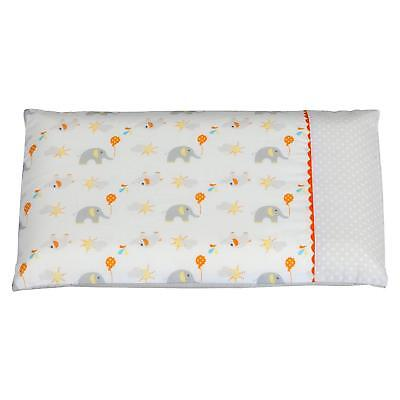 ClevaMama Replacement Baby Pillow Case Elephant